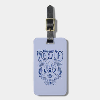 Alice | Adventures In Wonderland Luggage Tag