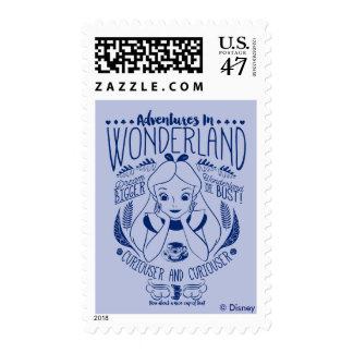 Alice | Adventures In Wonderland Postage