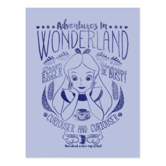 Alice | Adventures In Wonderland Postcard