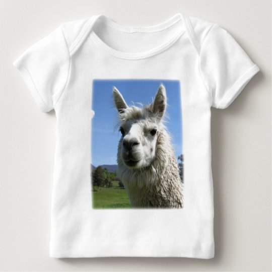 Alice Alpaca Baby T-Shirt