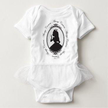 Disney Themed Alice | Always Curious Baby Bodysuit