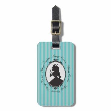 Disney Themed Alice | Always Curious Bag Tag