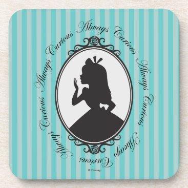 Disney Themed Alice | Always Curious Beverage Coaster