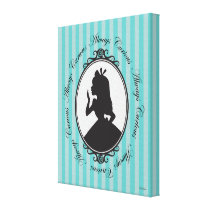 Alice | Always Curious Canvas Print