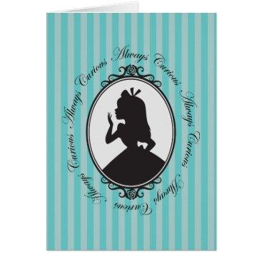 Disney Themed Alice | Always Curious Card