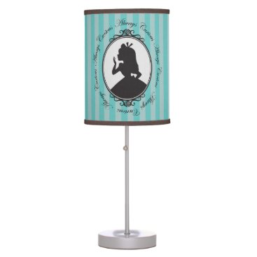 Disney Themed Alice | Always Curious Desk Lamp