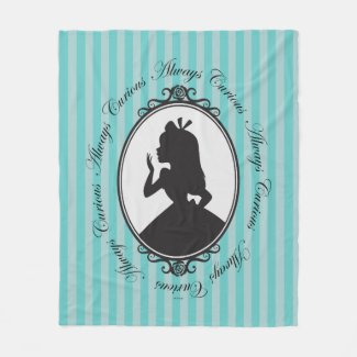 Alice | Always Curious Fleece Blanket