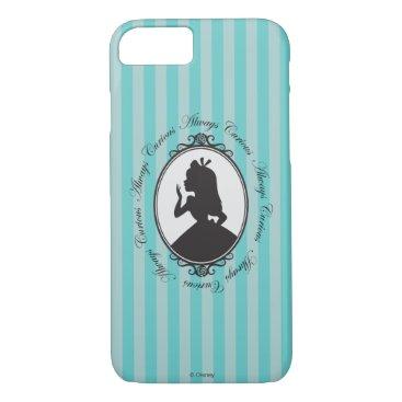 Disney Themed Alice | Always Curious iPhone 7 Case
