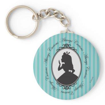 Disney Themed Alice | Always Curious Keychain