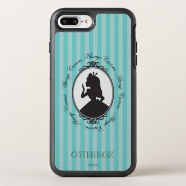 Disney Themed Alice | Always Curious OtterBox Symmetry iPhone 7 Plus Case