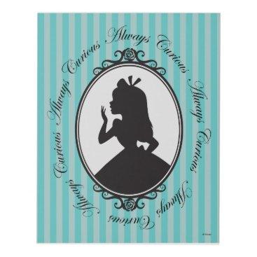 Disney Themed Alice | Always Curious Panel Wall Art