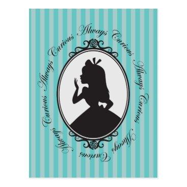Disney Themed Alice | Always Curious Postcard