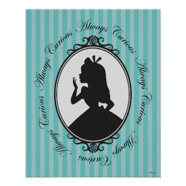 Disney Themed Alice | Always Curious Poster