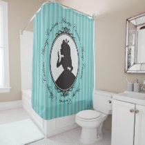 Alice | Always Curious Shower Curtain