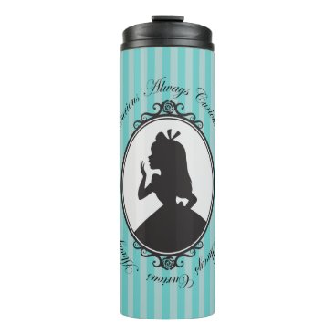 Disney Themed Alice | Always Curious Thermal Tumbler