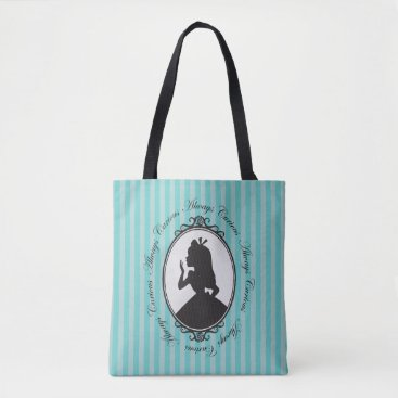 Disney Themed Alice | Always Curious Tote Bag