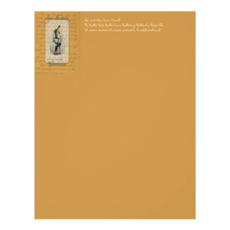 Alice and Bill the Lizard Letterhead