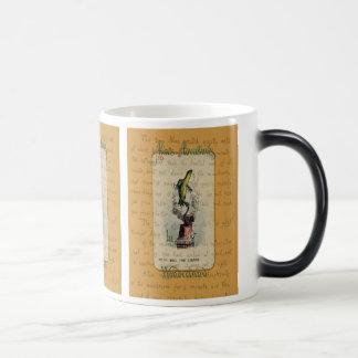Alice and Bill the Lizard Magic Mug