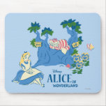 Alice and Cheshire Cat Mouse Pad