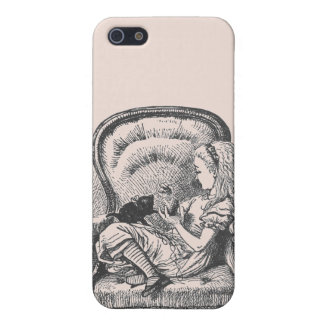 Alice and Dinah Case in Peach iPhone 5 Cover