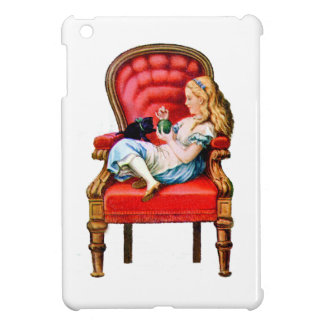 Alice and Dinah from Through The Looking Glass Case For The iPad Mini
