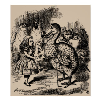Alice and Dodo Birds Posters
