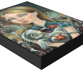 Alice and Dodo Gallery Wrap Canvas