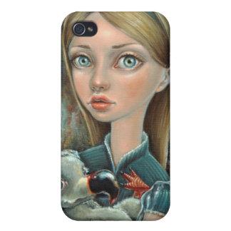 Alice and Dodo Cases For iPhone 4