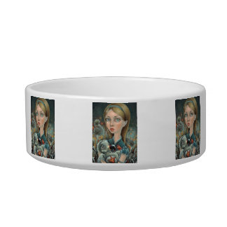 Alice and Dodo Cat Food Bowls