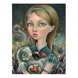 Alice and Dodo Postcard