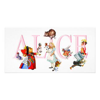ALICE AND FRIENDS CARD