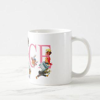 ALICE AND FRIENDS FROM WONDERLAND COFFEE MUG