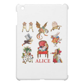 Alice and Friends in Wonderland Case For The iPad Mini
