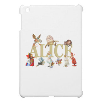 Alice and Friends in Wonderland iPad Mini Cases
