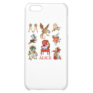 Alice and Friends in Wonderland iPhone 5C Covers