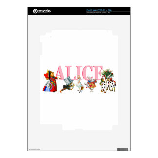 Alice and Friends in Wonderland Skin For The iPad 2