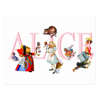 ALICE AND FRIENDS POSTCARD