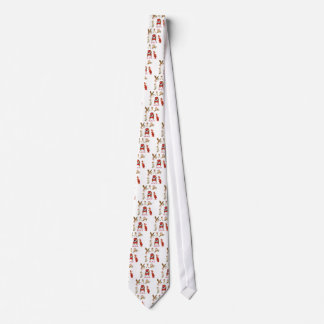 Alice and Friends Through the Looking Glass Neck Tie
