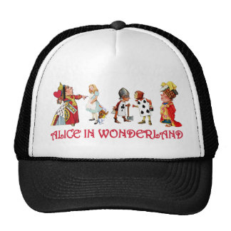 ALICE AND FRINEDS IN WONDERLAND HATS