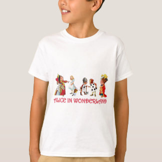 ALICE AND FRINEDS IN WONDERLAND T-Shirt