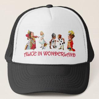 ALICE AND FRINEDS IN WONDERLAND TRUCKER HAT