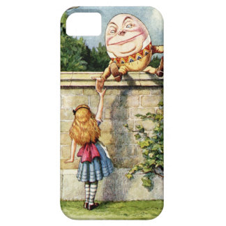 Alice and Humpty Dumpty iPhone 5 Case