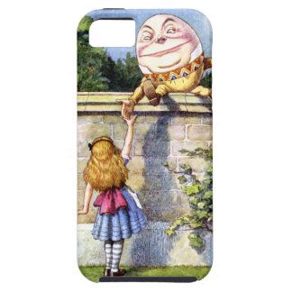 Alice and Humpty Dumpty in Wonderland iPhone 5 Cases