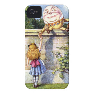 Alice and Humpty Dumpty in Wonderland iPhone 4 Covers