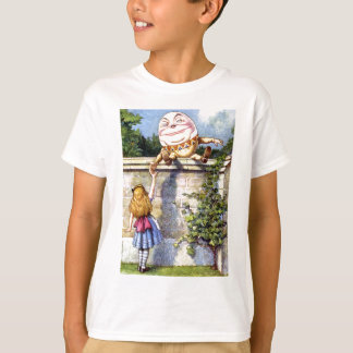 Alice and Humpty Dumpty in Wonderland T-Shirt