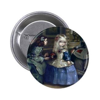 """""""Alice and Las Meninas"""" Button"""