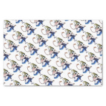Alice and Pink Flamingo Tissue Paper