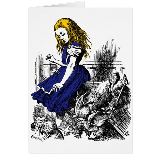 Alice and the Animals Card