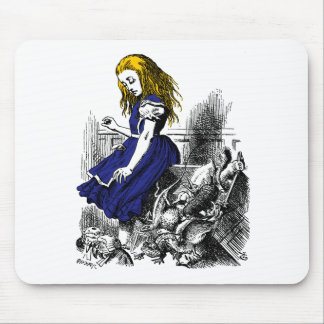 Alice and the Animals Mouse Pad