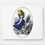 Alice and the Animals Mouse Pads